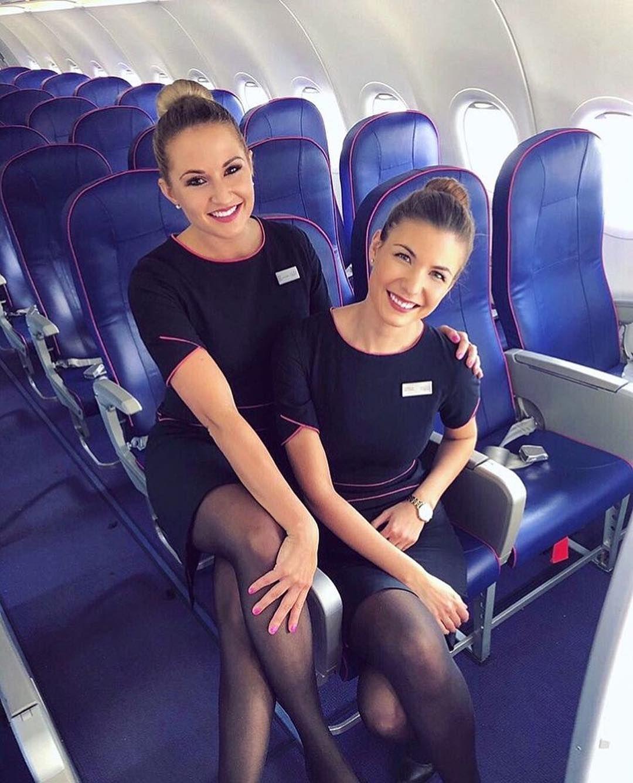 Pretty Delta Flight Attendant