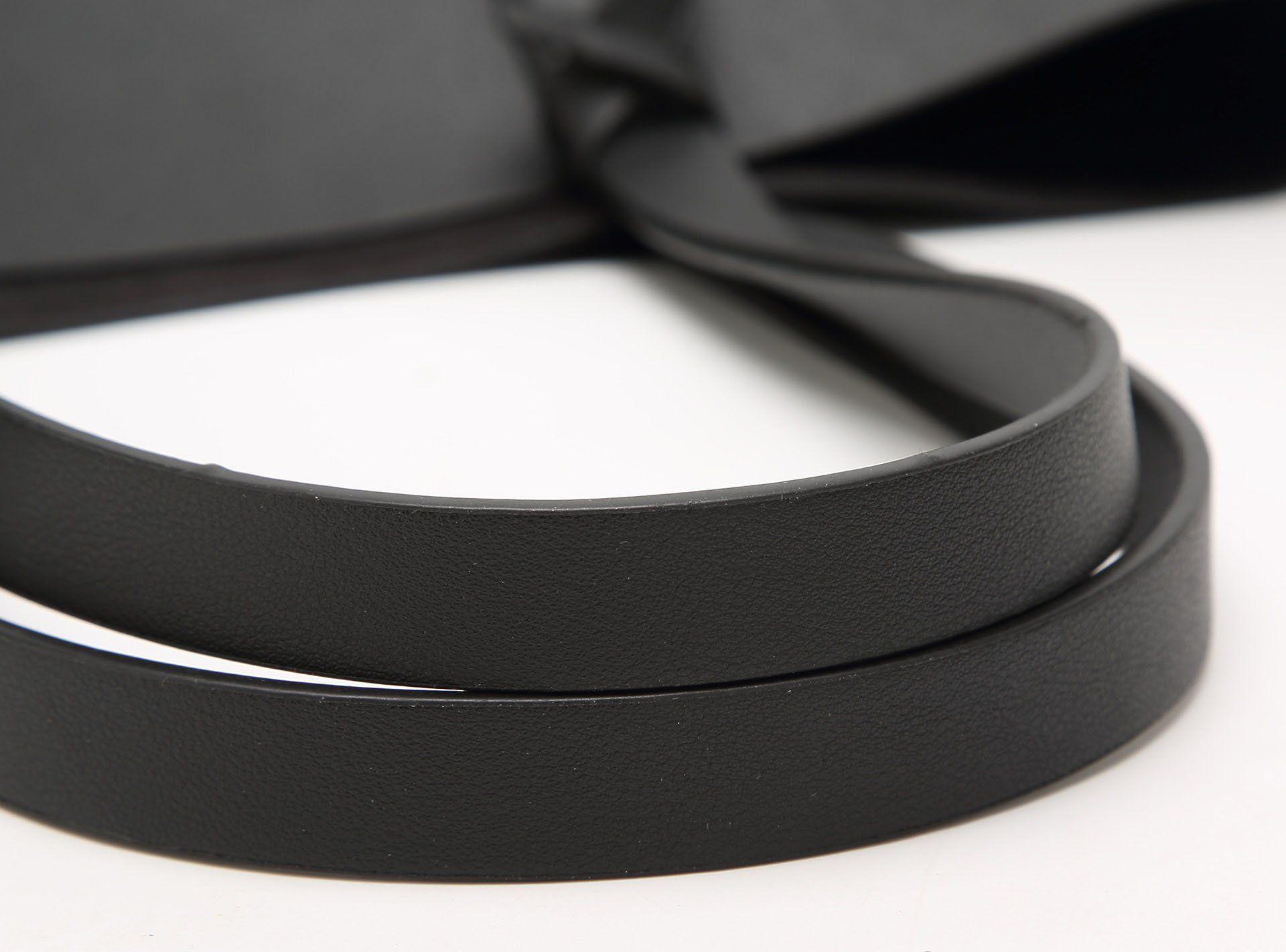 7427803ca92fe ilishop PU Leather Handbag Designer Pure Color Pures Large Capacity  Shoulder Bag Classical Tote Bags Black