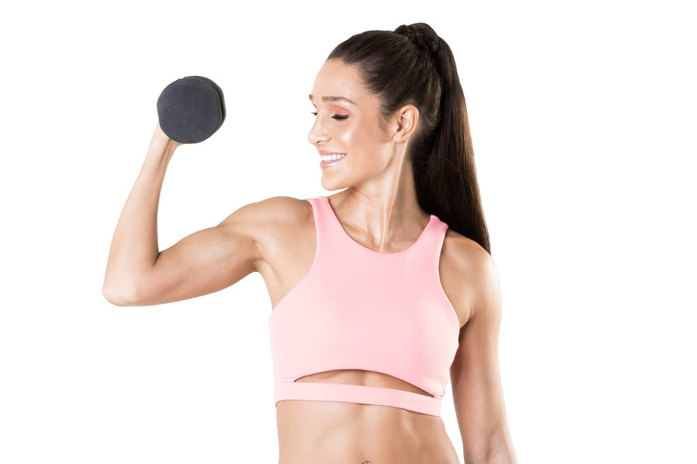 BBG Arm Workout For Beginners #beginnerarmworkouts BBG Arm Workout For Beginners – Kayla Itsines #beginnerarmworkouts