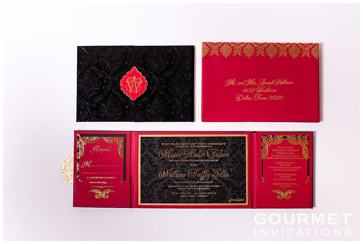 Velvet Wedding Invitations | wedding | Pinterest | Gold calligraphy ...