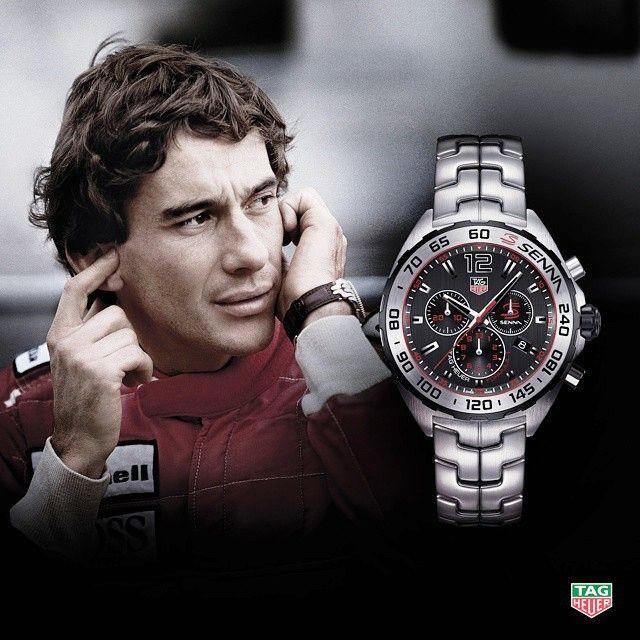4fb99384dd3 A Coleção Especial Ayrton Senna de relógios Tag Heuer