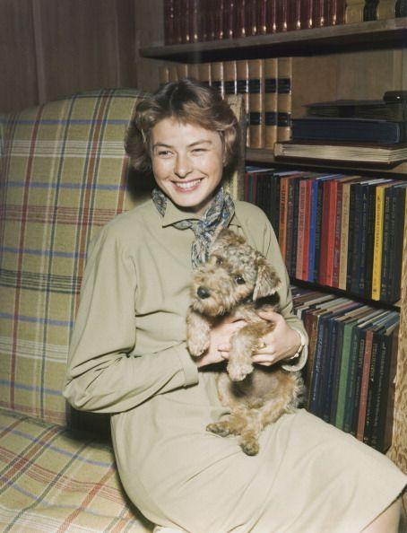 Ingrid knows best.  Ingrid Bergman