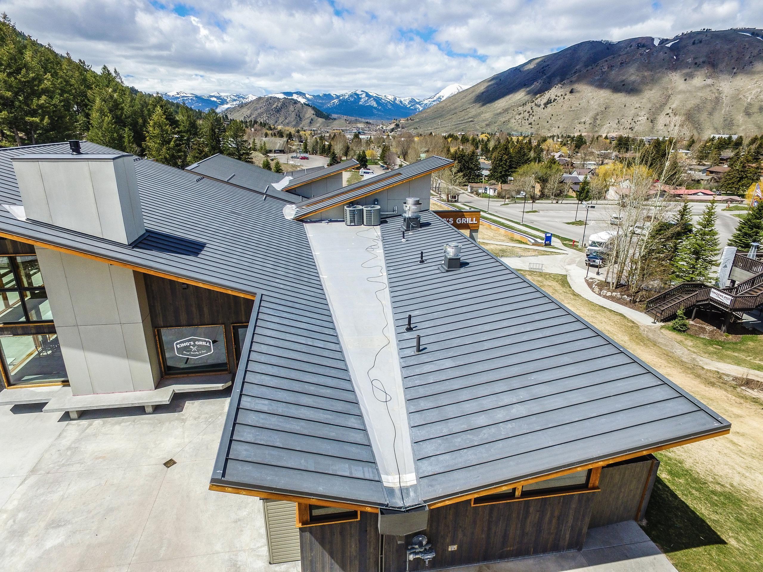 Standing Seam Metal Roofing Bonderized Commercial Metal Roofing Roofing Metal Roof