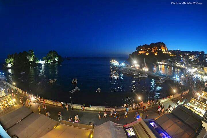 Parga by night 2014