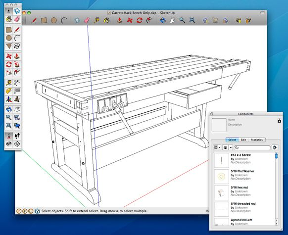 How To Use Sketchup To Get The Most From A Digital Woodworking