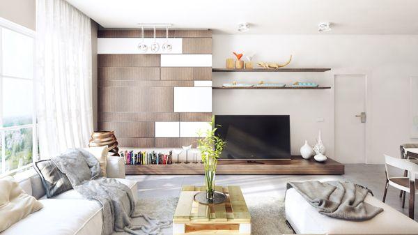 Warm Contemporary Interiors Contemporary Home Decor