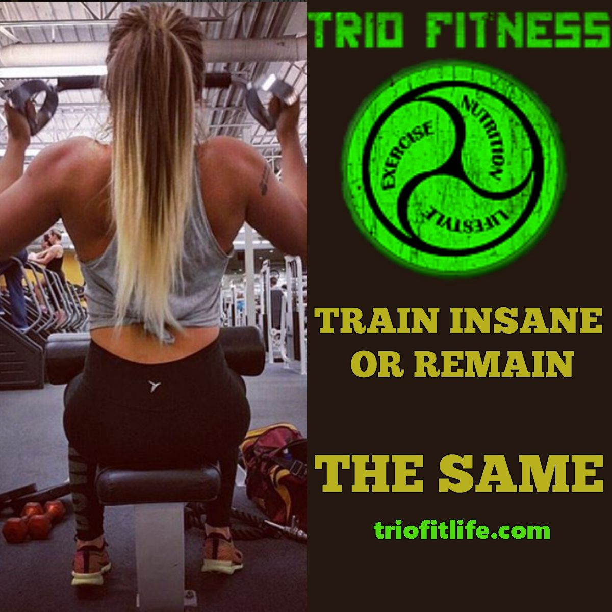Pin By Trio Fitness On Fitness Train Insane Or Remain The Same Fitness Athlete