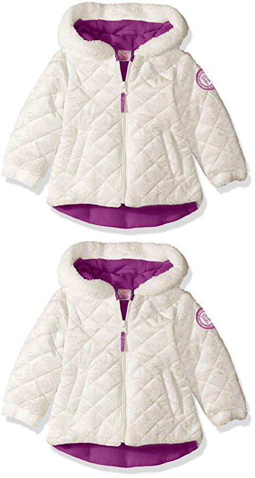 400e976a839d U.S. Polo Assn. Baby Girls  Quilted Faux Fur Jacket