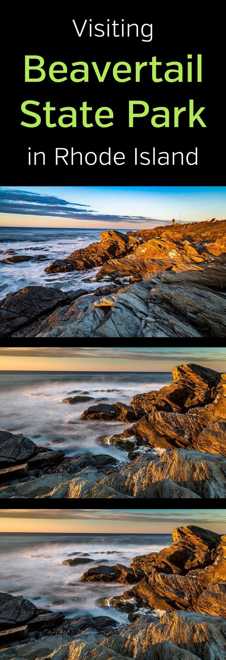 Photography Guide to Beavertail State Park (Rhode Island #travelengland