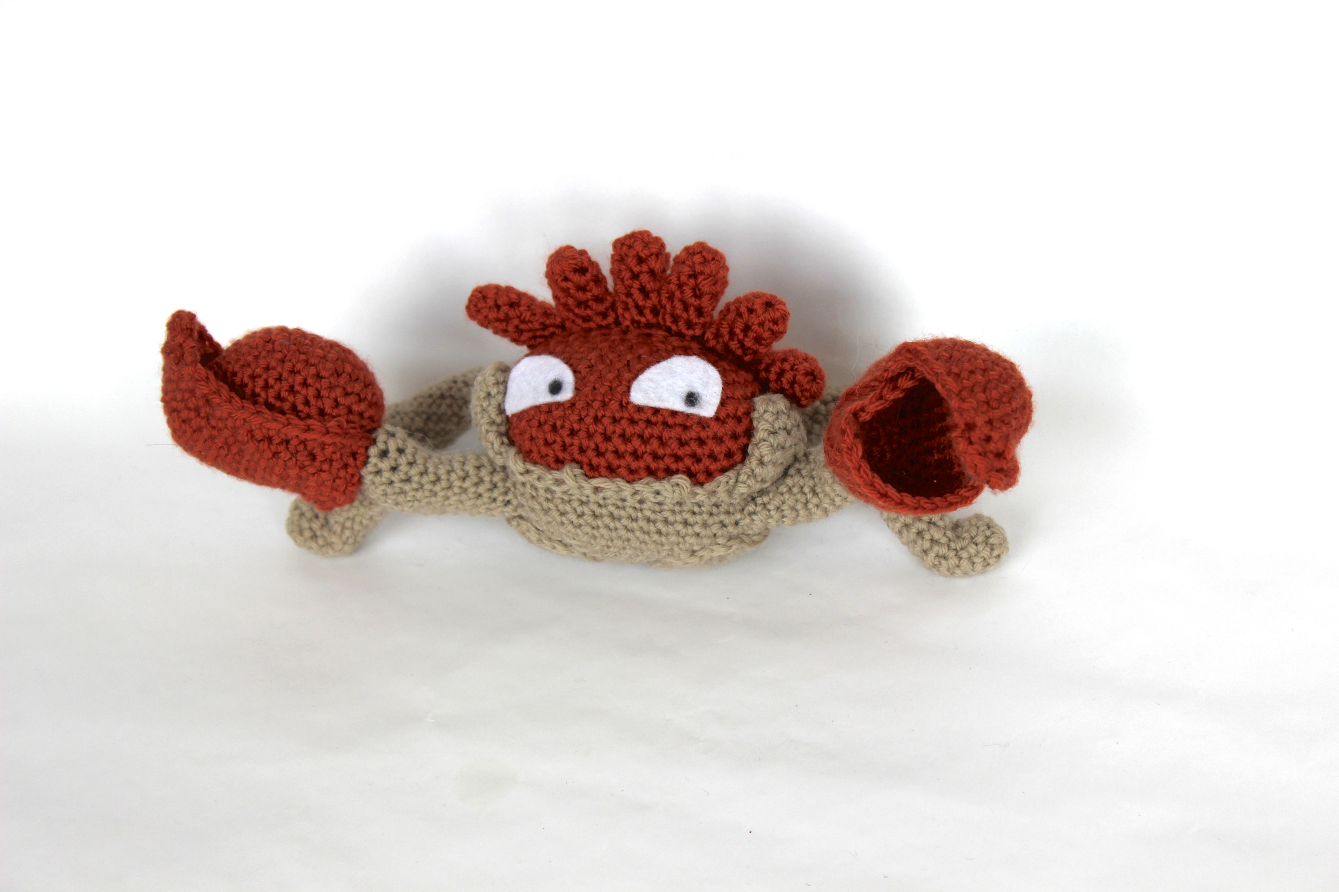 099 kingler crochet | Nifty ideas | Pinterest | Pokémon y Ganchillo