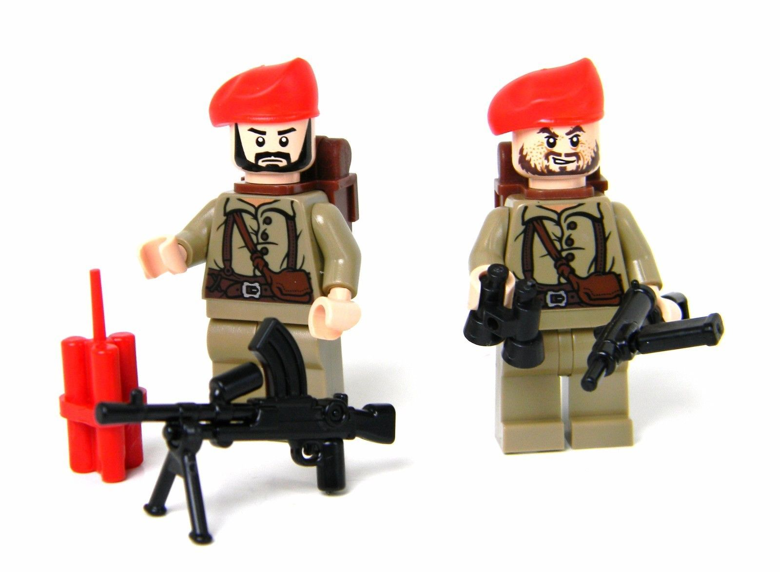 R minifig World War German Panzer Tank Commander Minifigure made with real LEGO