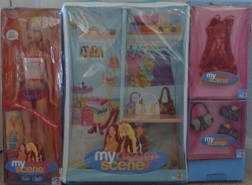 My Scene My Design Doll Set Barbie by Mattel  $48 99  Comes with