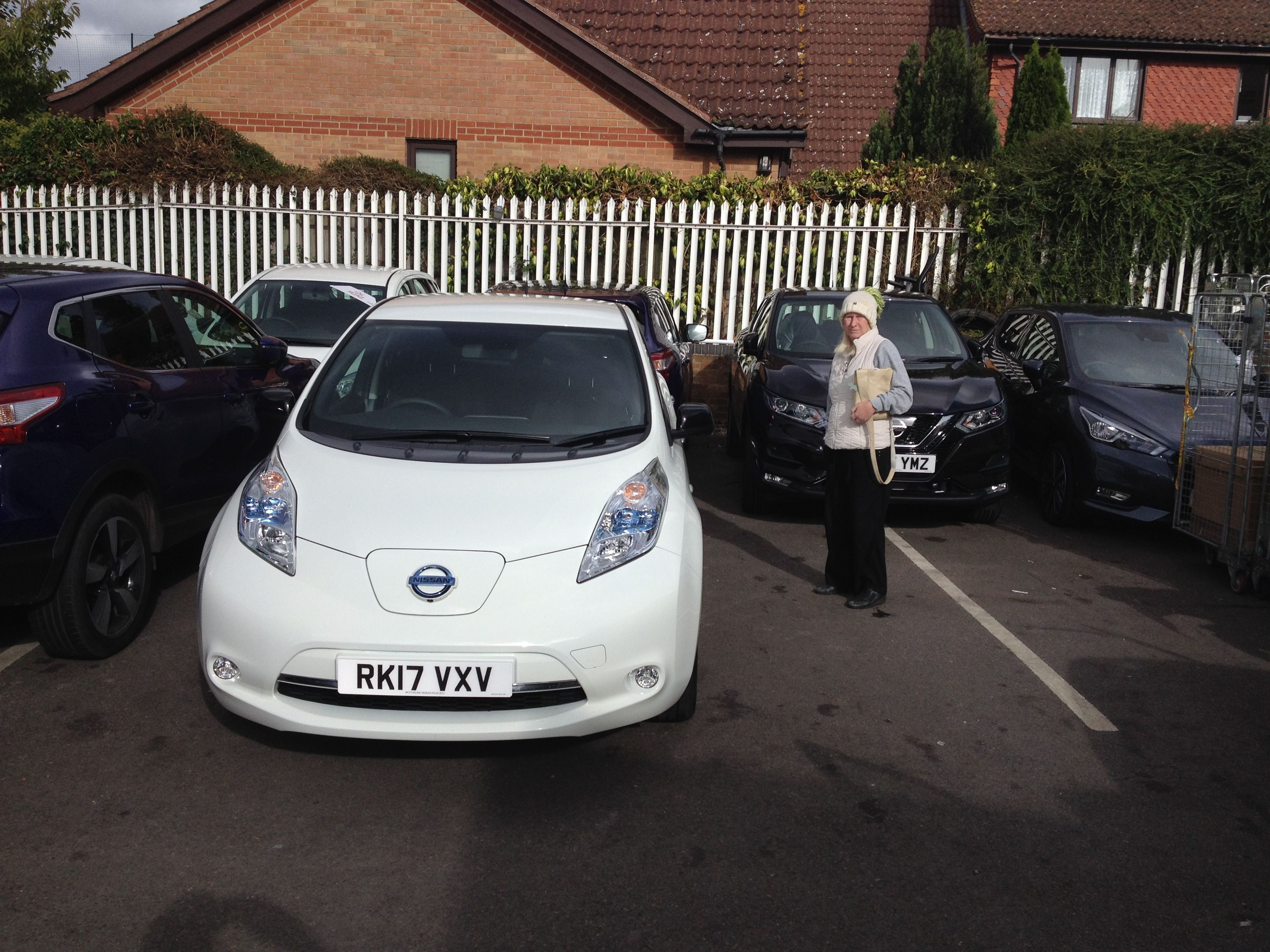 My First Test Drive Of A Nissan Leaf 30kw On 2nd Oct 2017 Great