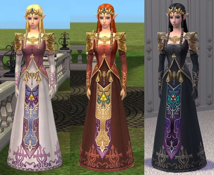 4c6fad8e55 Mod The Sims - Princess Zelda - Sim