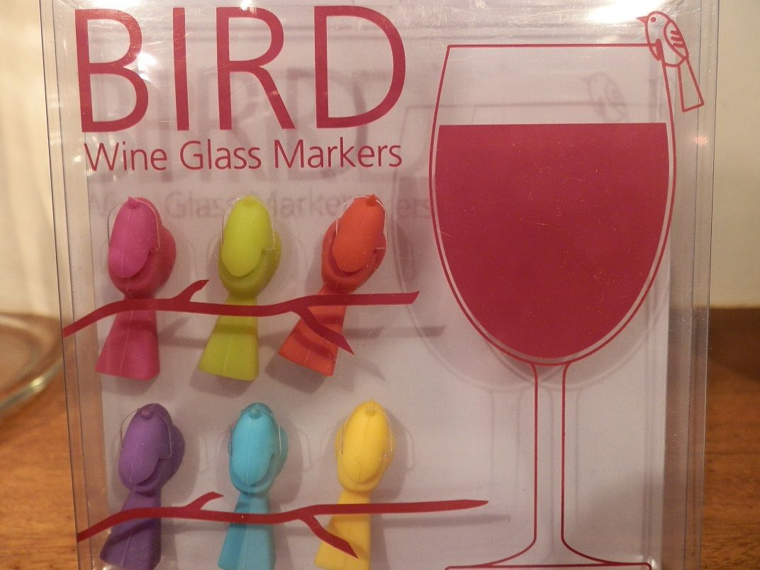 These Bird Wine Glass Markers Are Too Cute Bird Wine Party Bbq Summer Pimms Glass Marker Wine Glass Markers Wine Glass