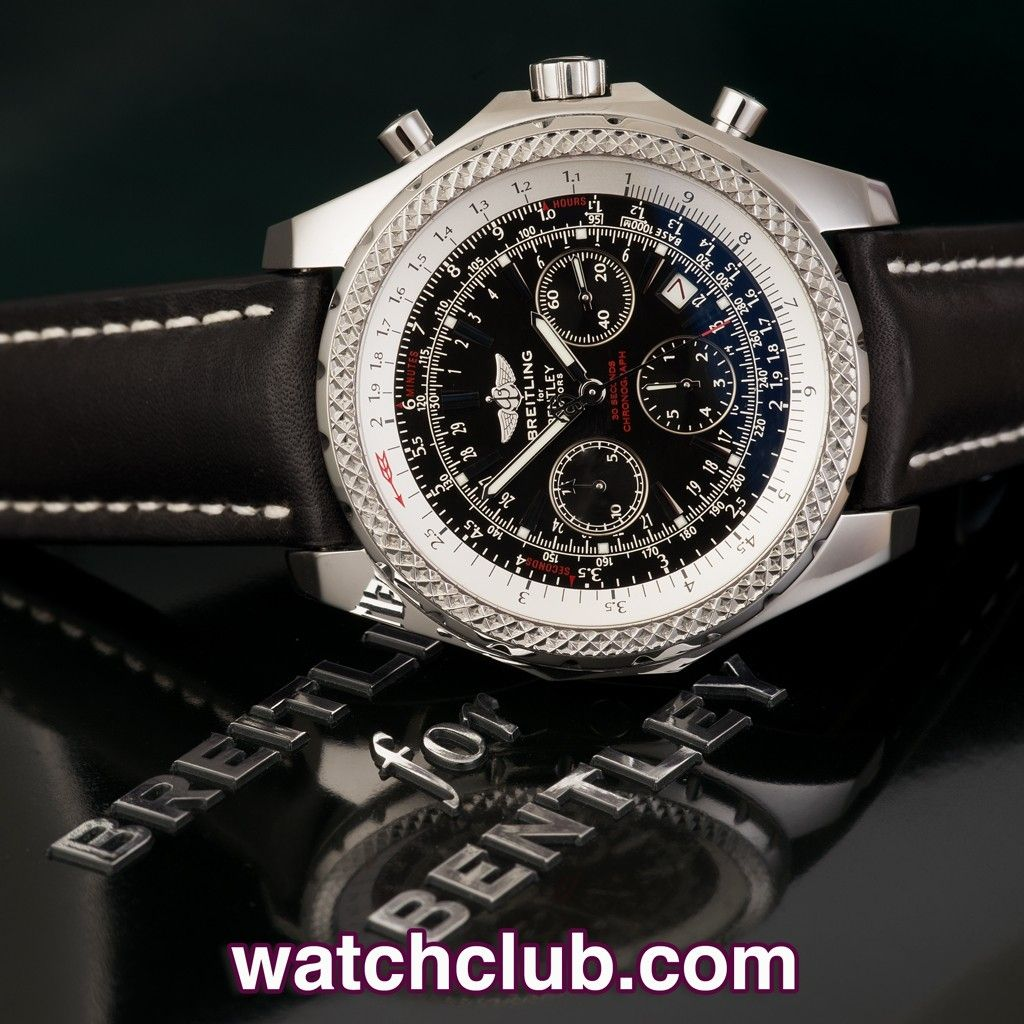 Breitling Bentley For Motors Special Edition Ref A25362 Year Jan 2009 Owered By Breitling S Self Breitling Bentley Breitling Breitling Watches Bentley