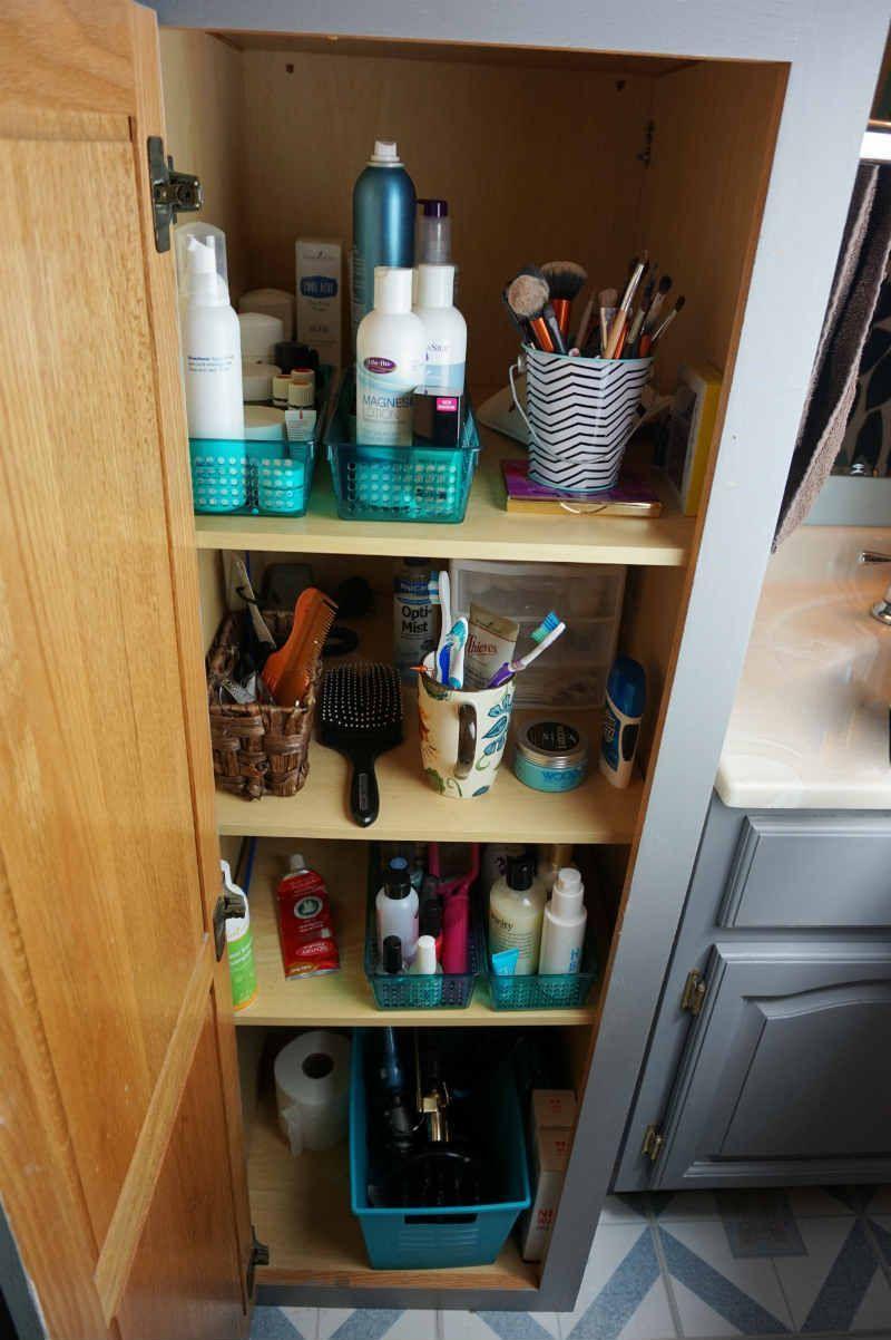 small bathroom organization  bathroom organization small
