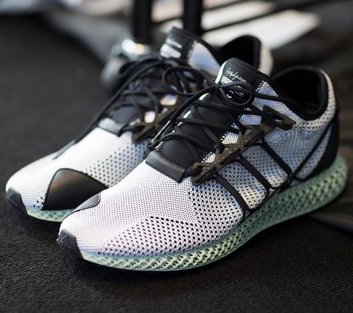 Adidas Y-3 w/ Futurecraft 4D Soles coming 2018