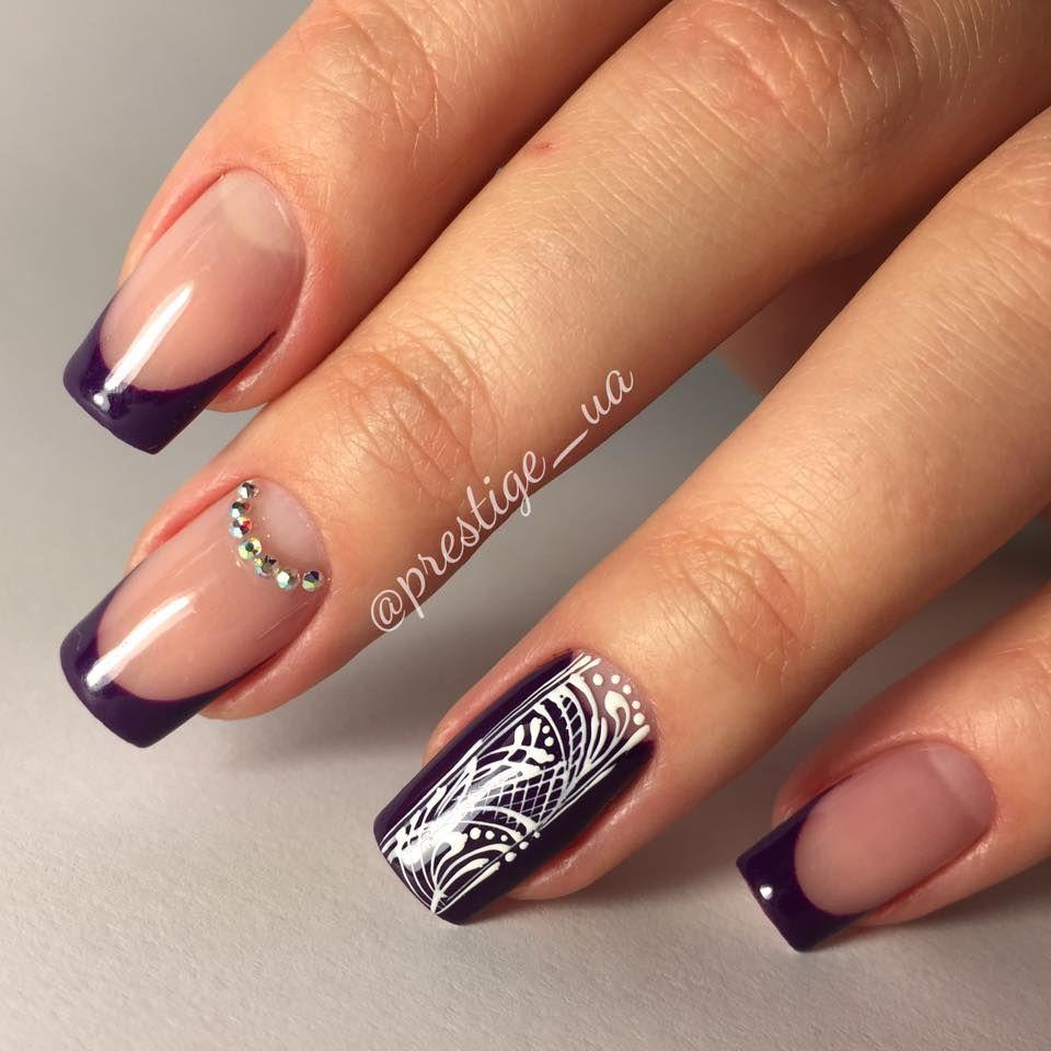 Magnetic prestige acrylics nails pinterest acrylics manicure