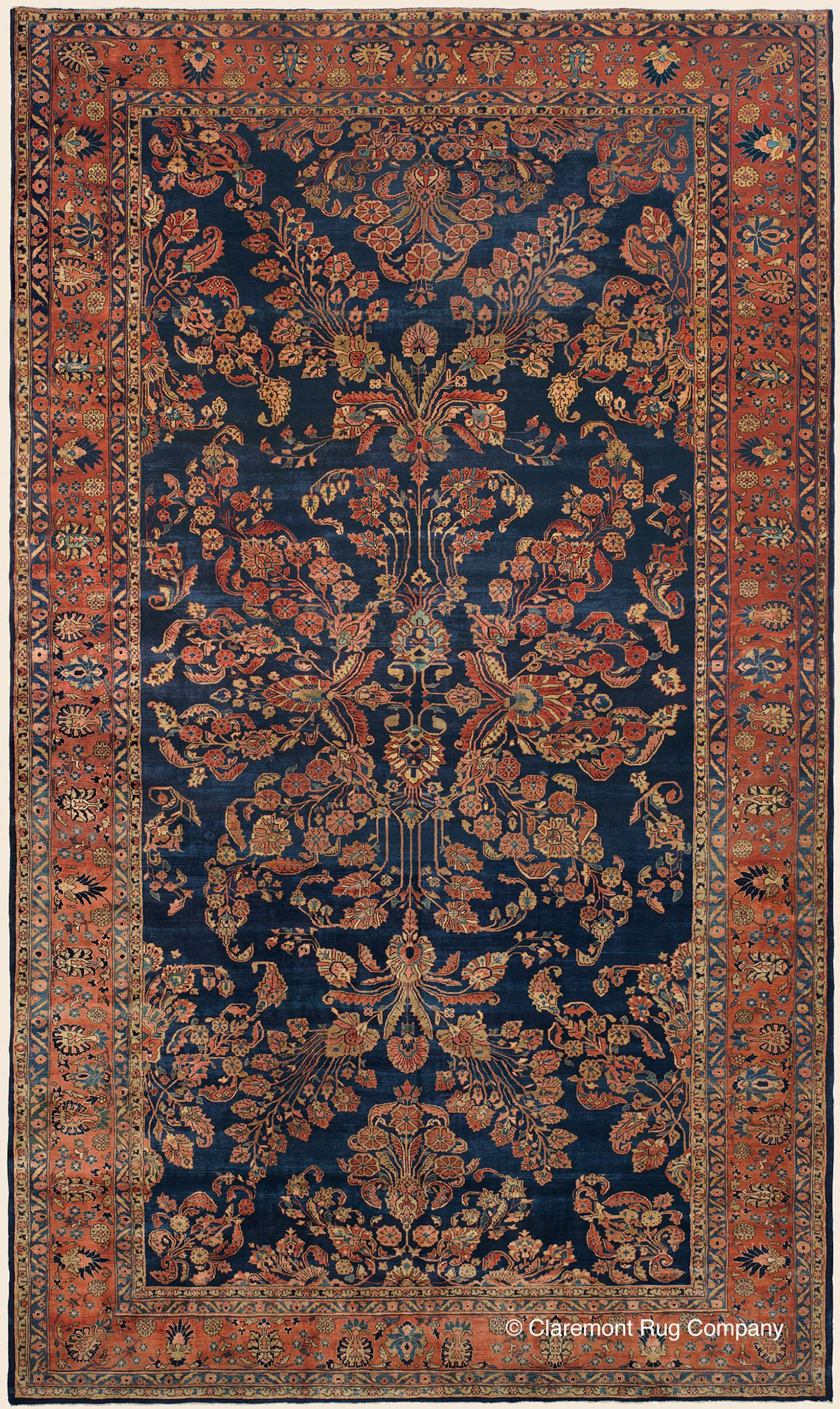 Antique Oversize Oriental Persian Rugs