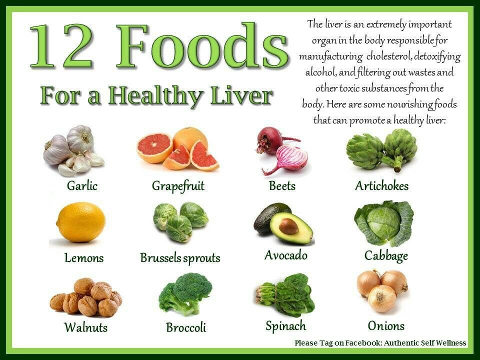 diet that is healthy for liver