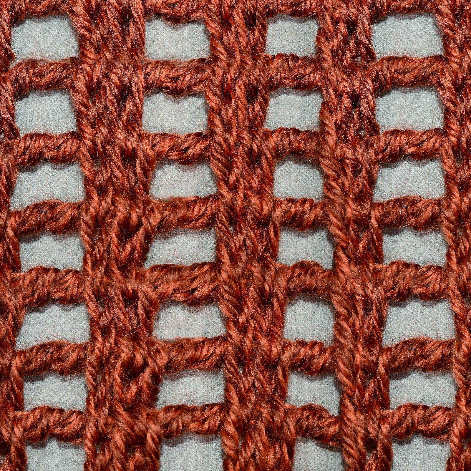 My Tunisian Crochet Lace Columns Tunisian Crochet Pinterest