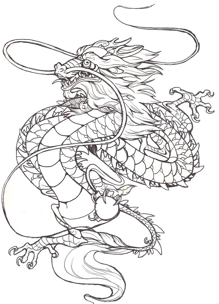 tattoo CHINESE DRAGON by Anarchpeace on DeviantArt | Asian ...