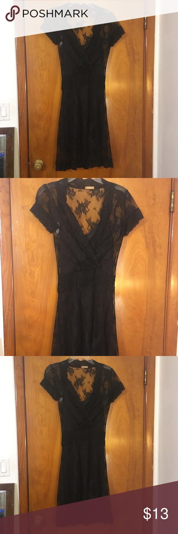 21 Vintage Lace 2 Piece Dress Vintage Black Lace Dress Piece Dress Black Lace Midi Dress [ 1740 x 580 Pixel ]