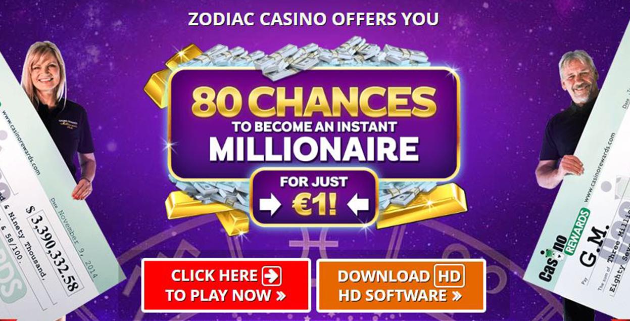 Zodiac Casino Flash