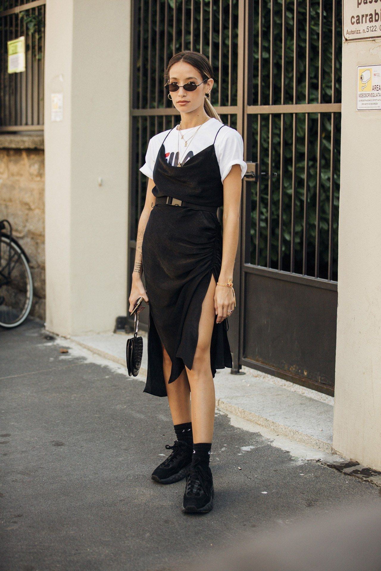 Street-Styles der Mailand Fashion Week F/S 2019 #trendystreetstyle