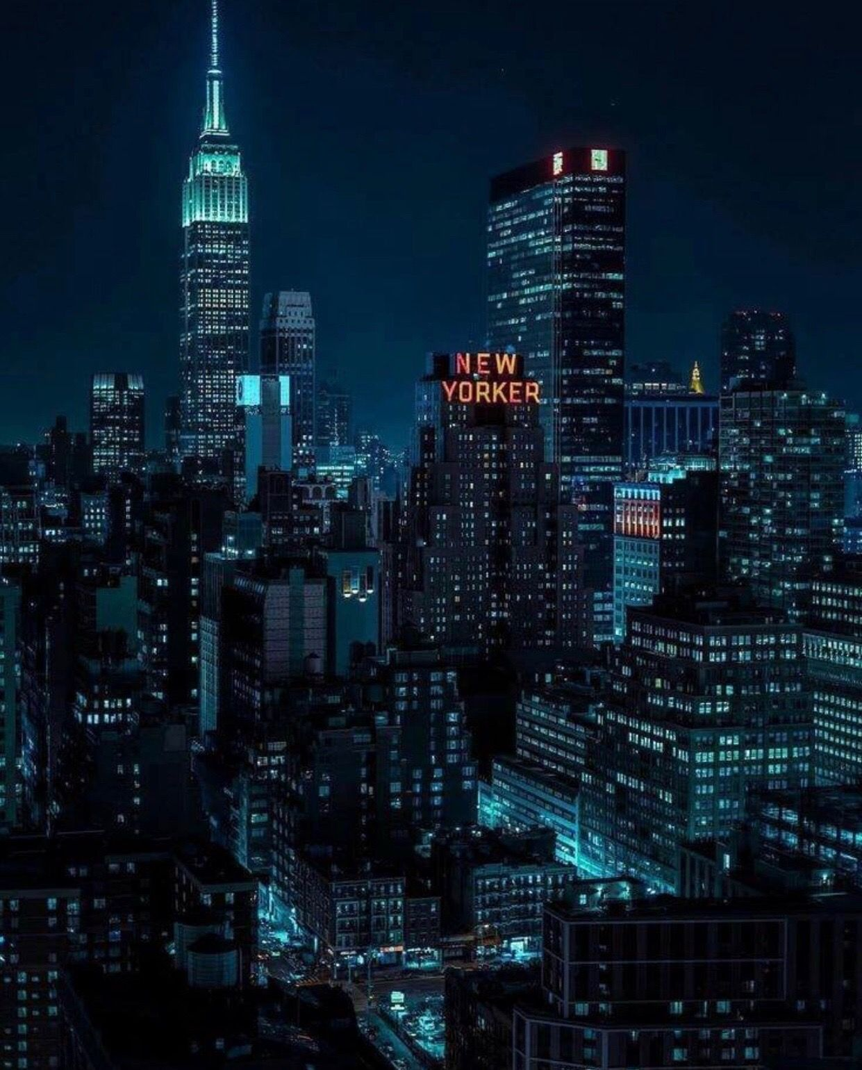New York Aesthetic Wallpaper Night