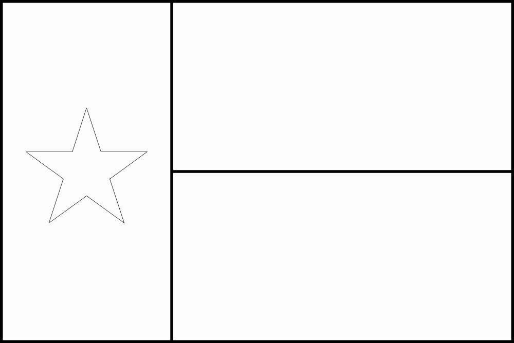 Texas State Flag Coloring Page di 2020 (Dengan gambar)