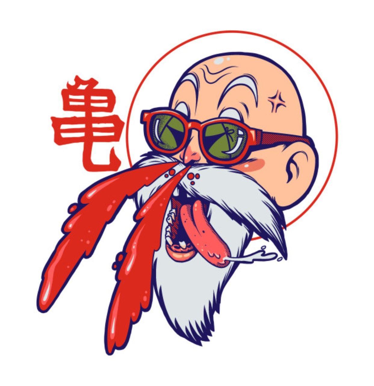 Master Roshi Dragon Ball Z Dragon Ball Artwork Dragon Ball Tattoo Dragon Ball Art