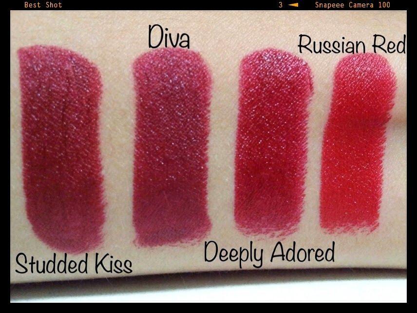 Extrêmement Glamorous Routine: MakeUp Review: Batons Instigator e Studded Kiss  AH79