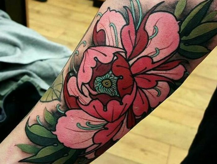 1001 Versions Fantastiques Du Tatouage Pivoine Floral Tattoos