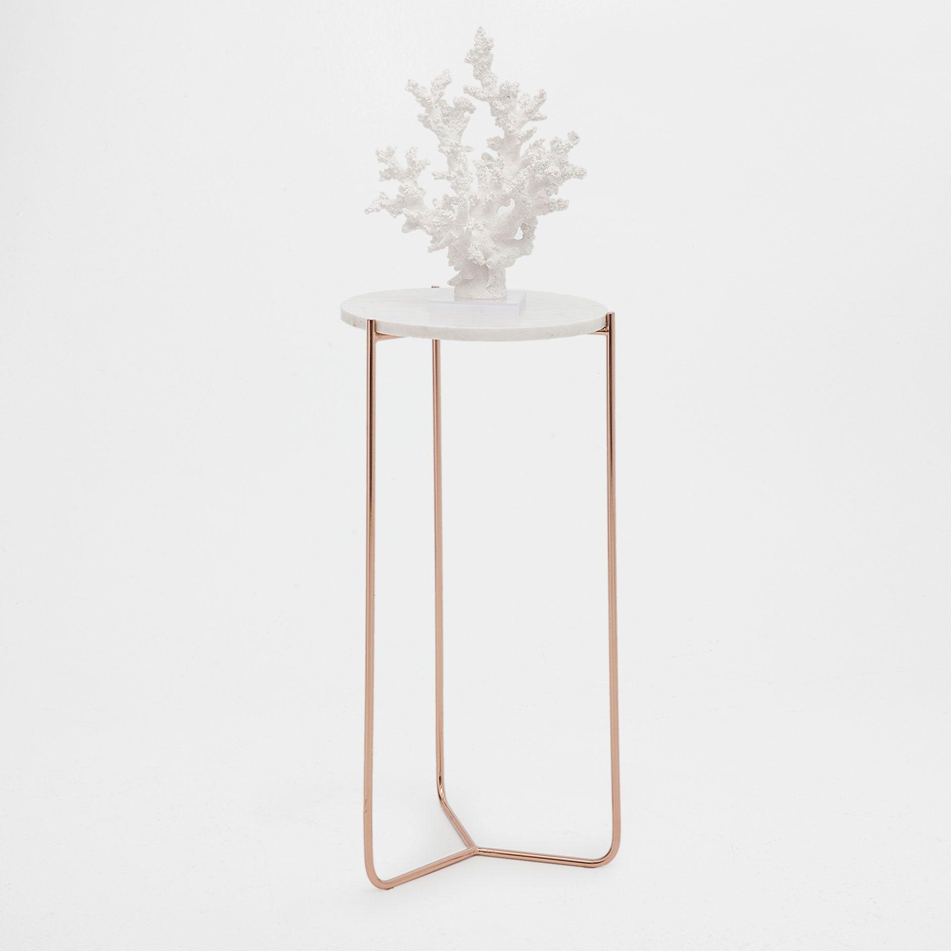 Mesa auxiliar de marmol redonda - MUEBLES - DECORACIÓN | Zara Home ...