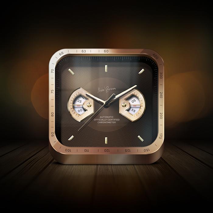 Big Clock icon   Ios icon. Iphone icon. Mobile icon