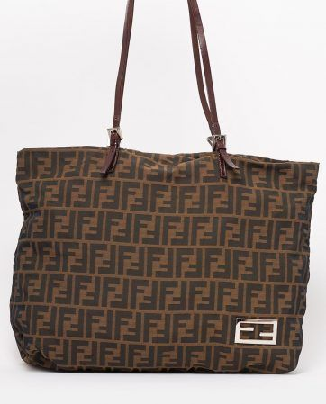 3404c3b099b0 vintage-fendi-zucca-shoulder-bag-front