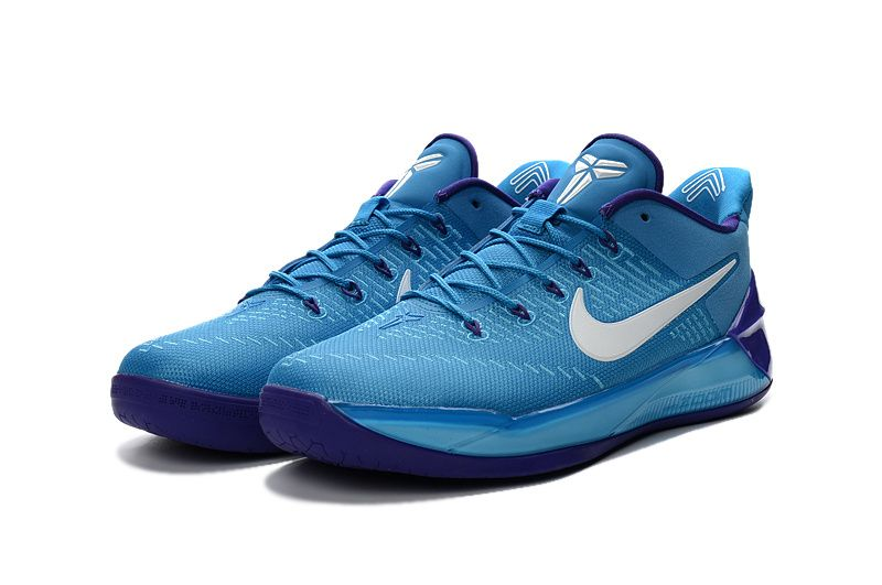 3a6225a4cc27 Nike Kobe 12 Blue White Basketball Shoes