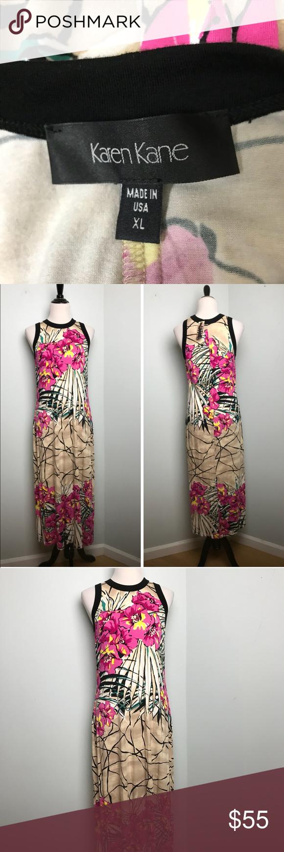 Karen Kane Maxi Dress Size Xl New Karen Kane Karen Kane Dress Maxi Dress [ 1740 x 580 Pixel ]