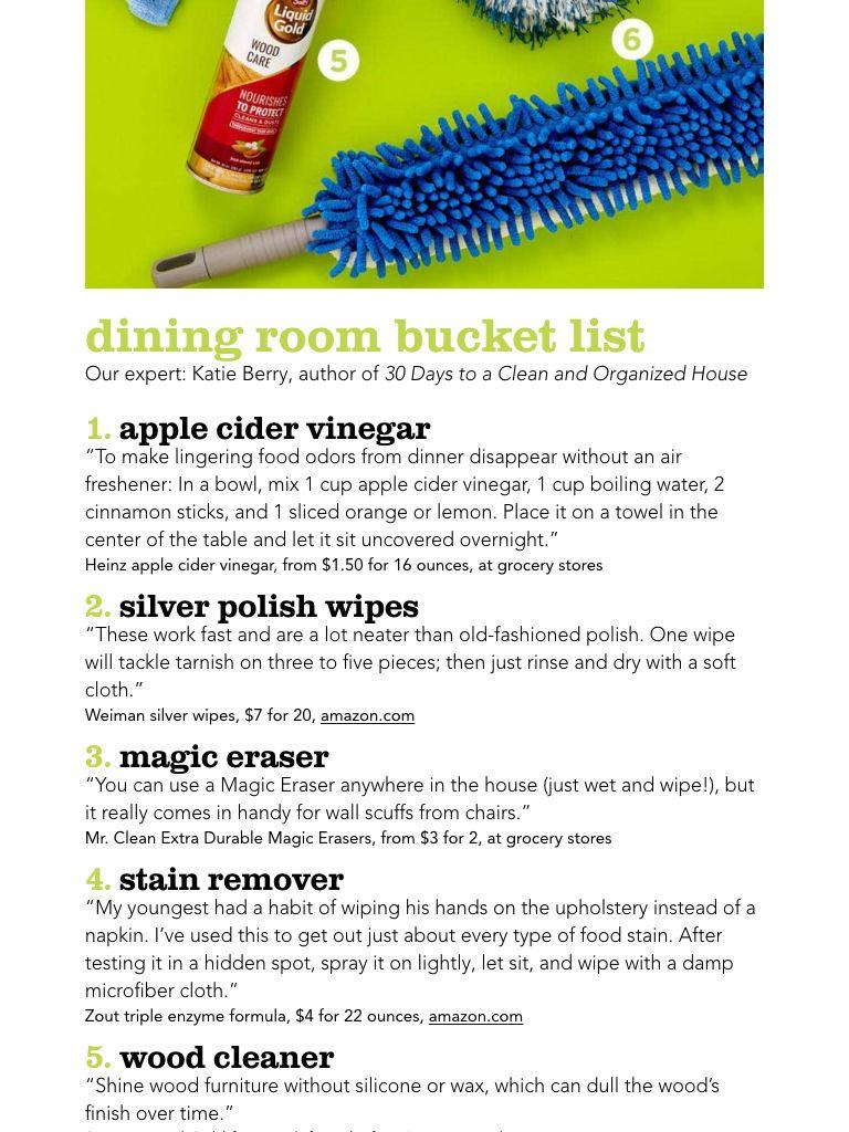 """Bucket Lists"" from HGTV Magazine, September 2017. Read it"