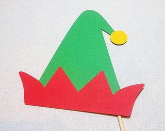 paper elf hat template google search study buddies pinterest