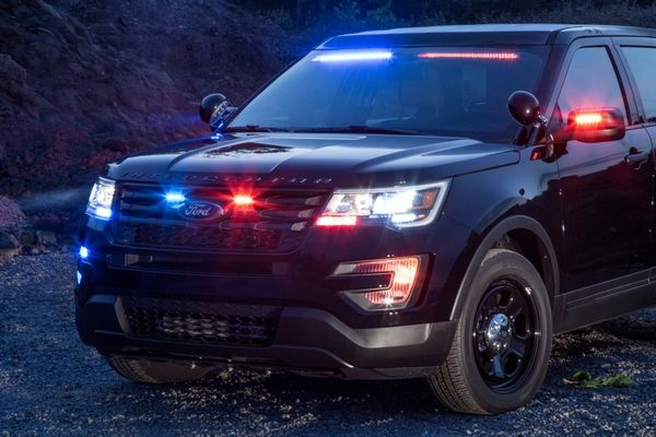 Ford Police Interceptor Utility Front Lights Ford Police