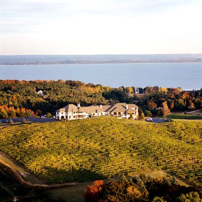Chateau Chantal Winery Tasting Room Traverse City Mi Located On The Old Mission Peninsula In The Middle Of Grand Traverse Bay Michigan Vacations Traverse City Vacation Spots