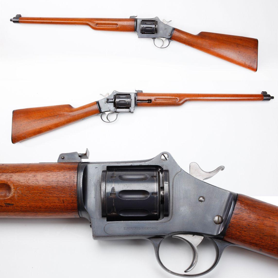 Pieper Revolving Rifle Belgian Pieper revolving rifle