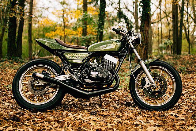 Yamaha Rd400 Atlanta Motorcycle Works Cafe Racer Tracker Motorcycle Yamaha