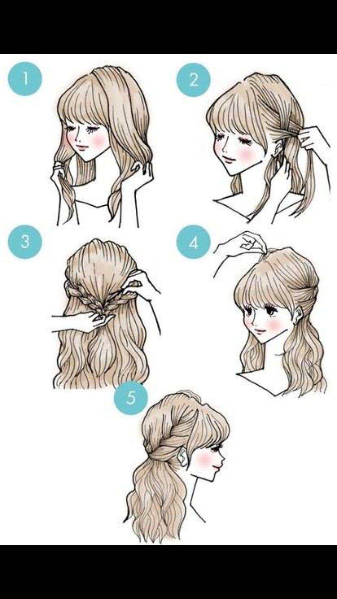 Short hairstyle 귀여운 헤어스타일 pinterest short hairstyle