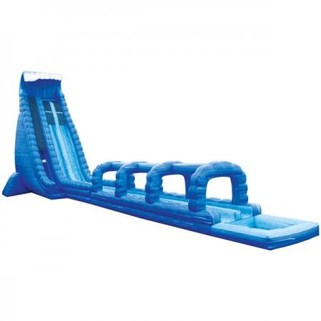 Check Out The Biggest Inflatable Water Slide For Rent In