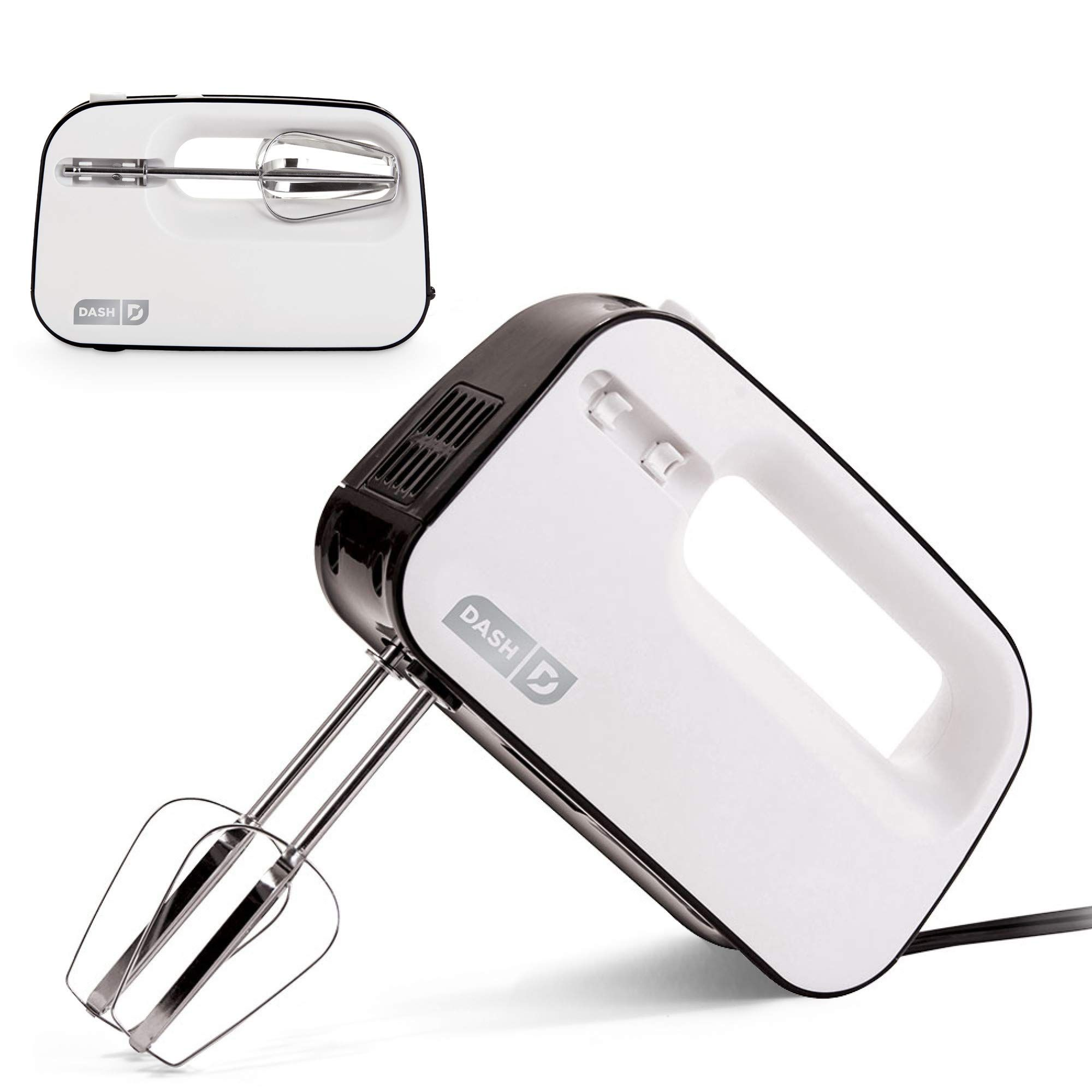 Dash shm01dswh smart store compact hand mixer electric for