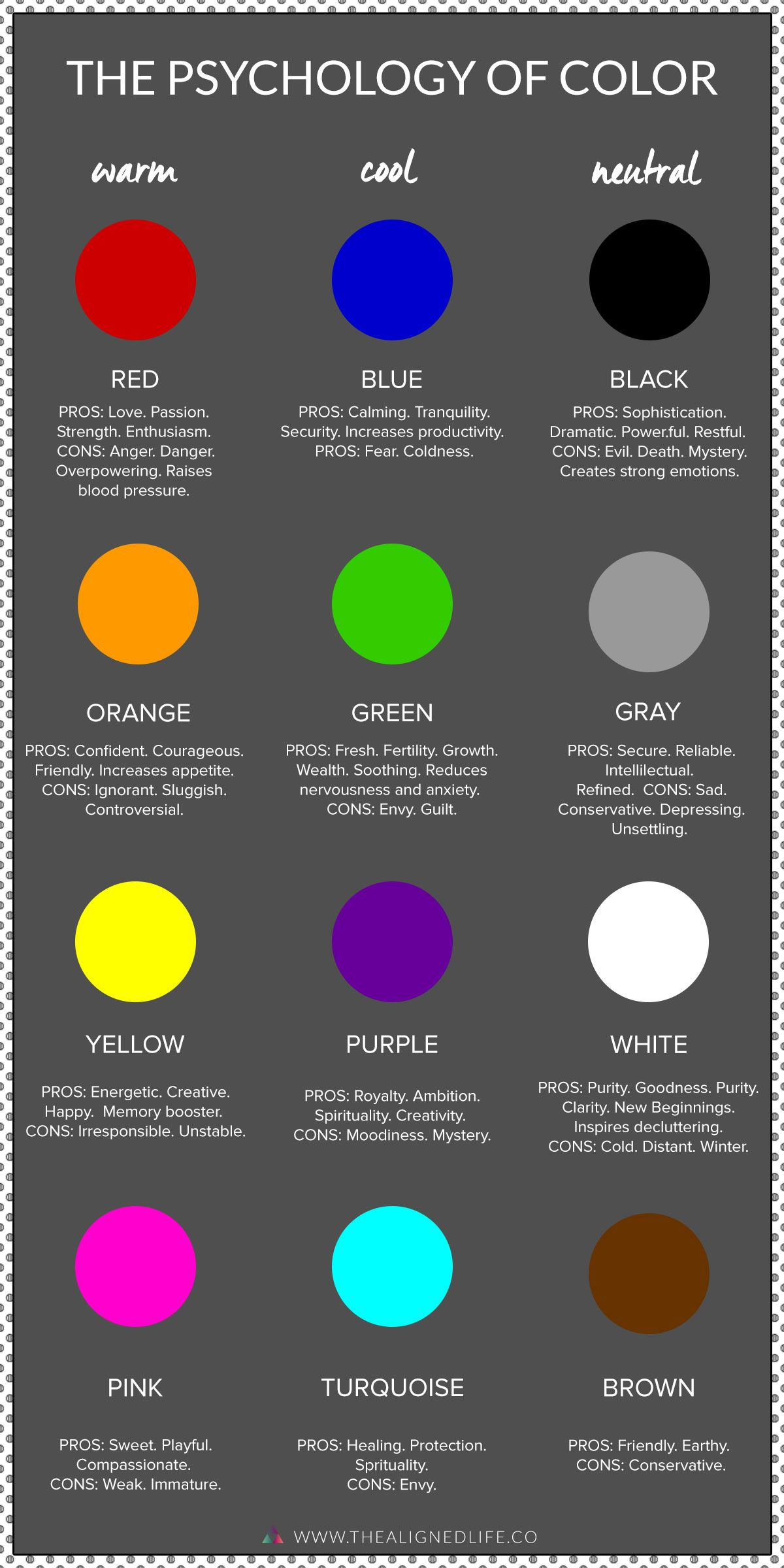 The Life Changing Power Of Color Psychology